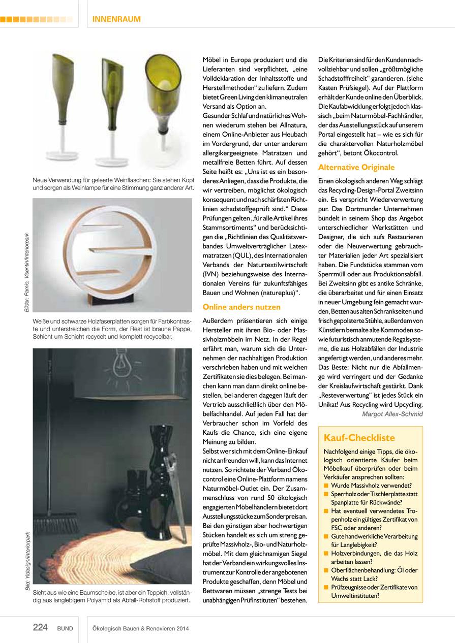 BUND Interview InteriorPark. Jahrbuch 2014