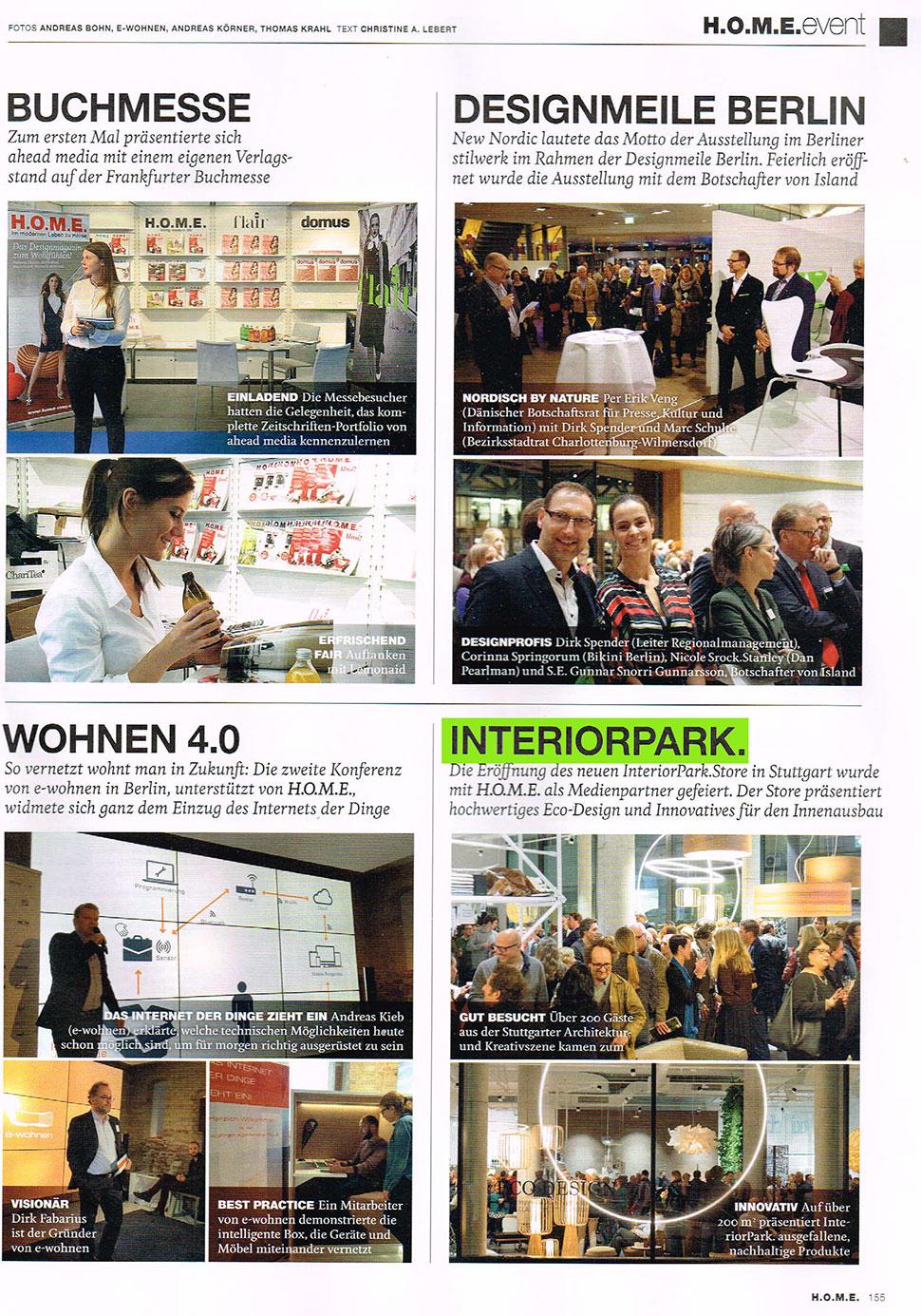 HOME empfiehlt InteriorPark.Store Stuttgart