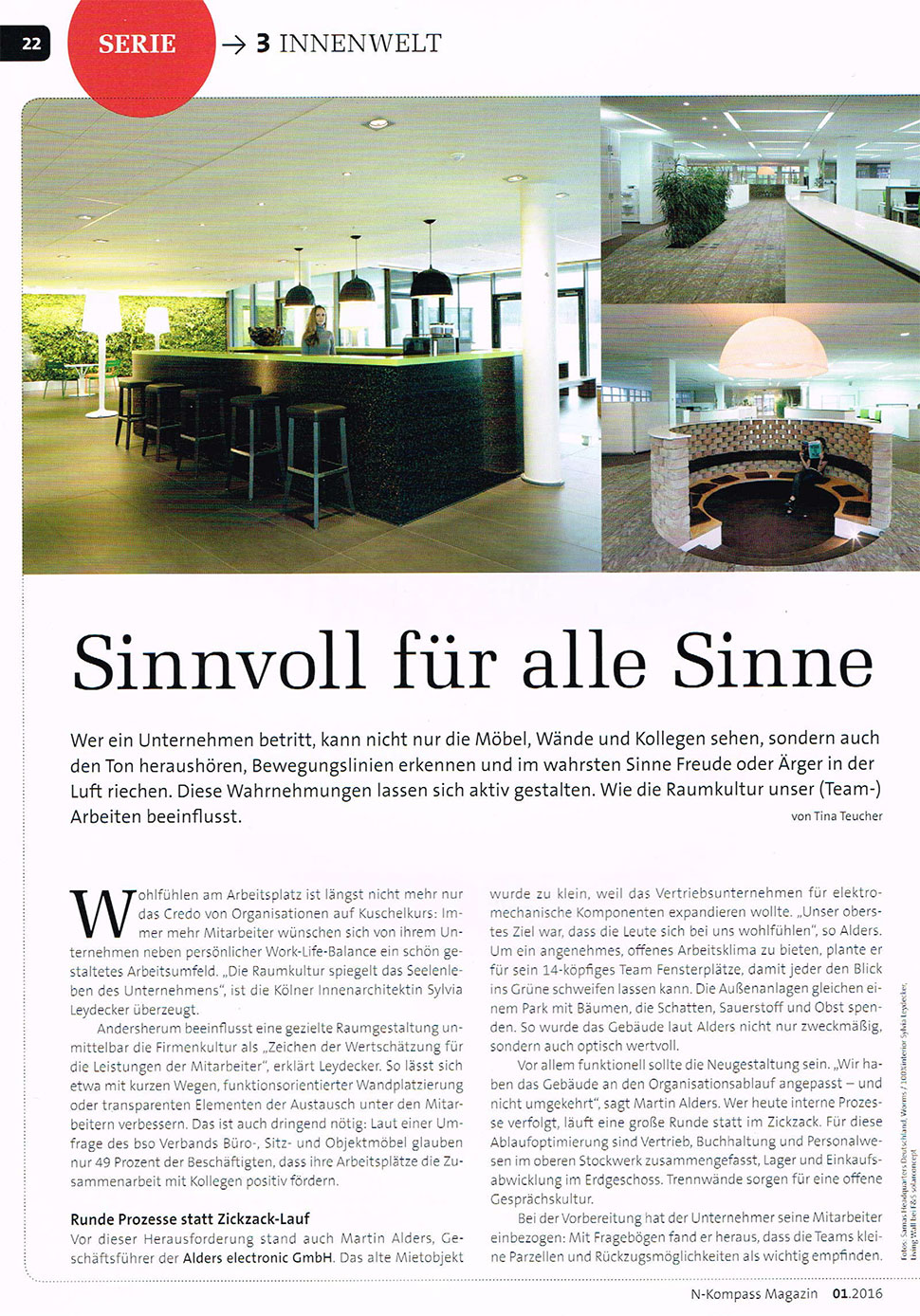 N-Kompass im Interview mit InteriorPark.