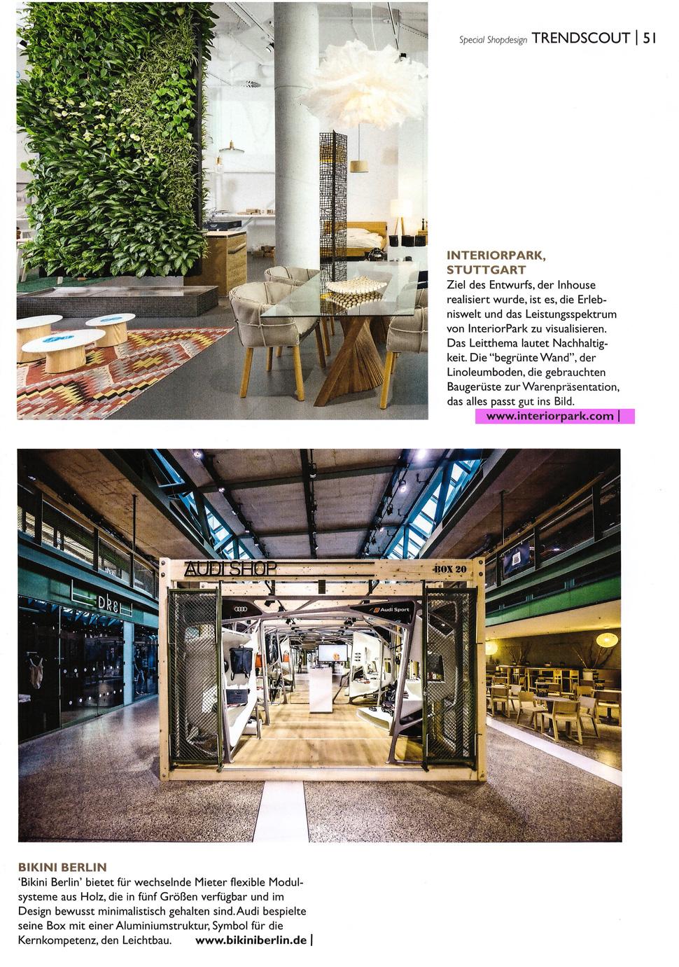 md Magazin über unseren Store Stuttgart